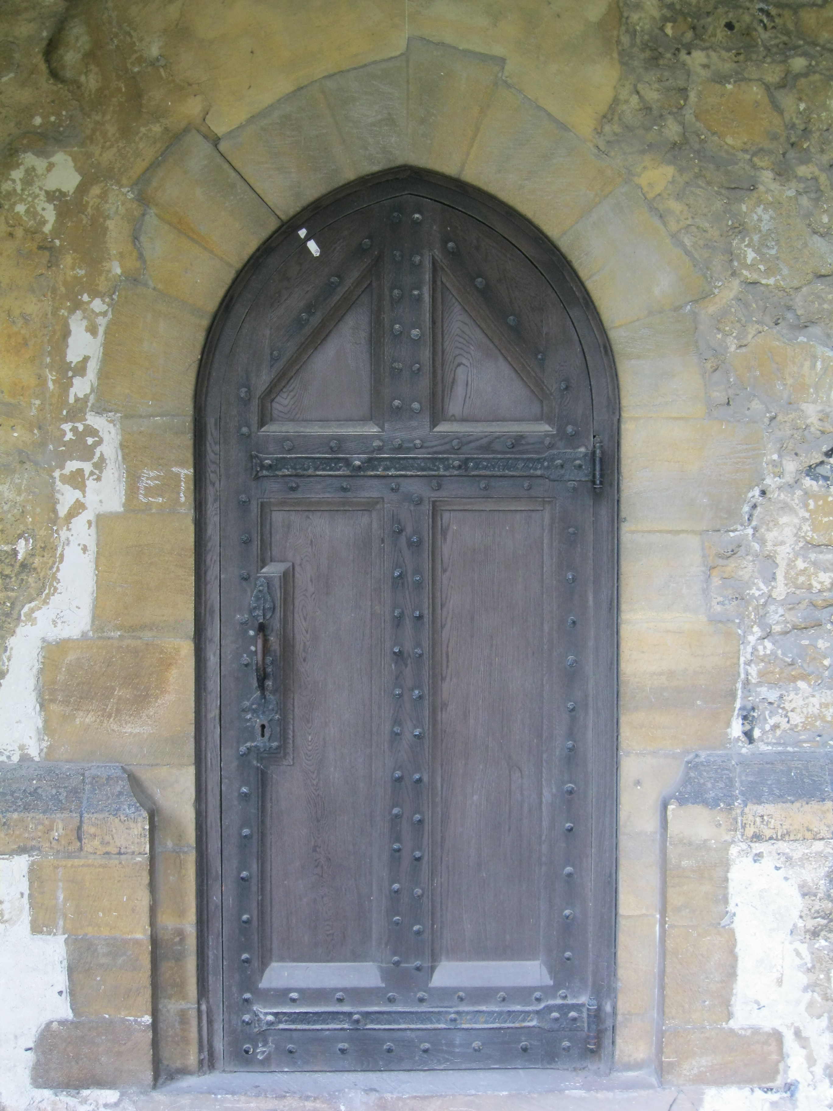 Gothic Architecture A Door Day